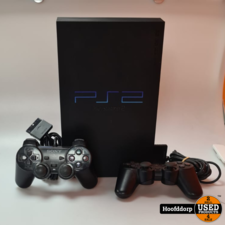 Playstation 2 Phat met 2 controllers | Nette staat