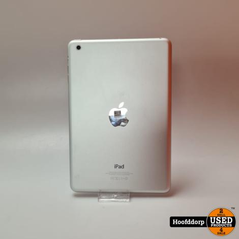 Apple iPad mini 1 16GB Wifi Silver nieuwtsaat