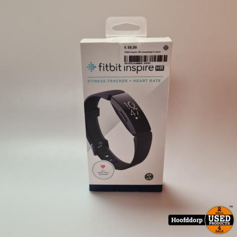 Fitbit Inspire HR nieuwstaat in doos