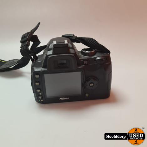 Nikon D60 met 18-55 mm lens