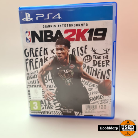 Playstation 4 game : NBA2K19