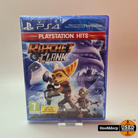 Playstation 4 game : Ratchet en Clank nieuw in seal
