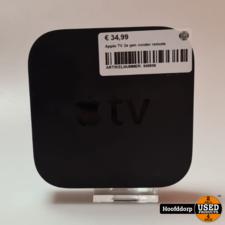 Apple TV 2e gen zonder remote
