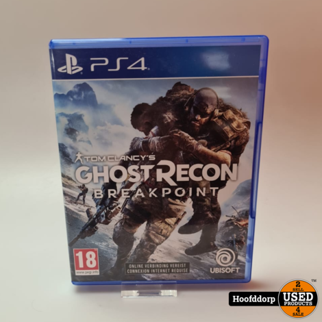 Playstation 4 game : Ghost Recon Breakpoint