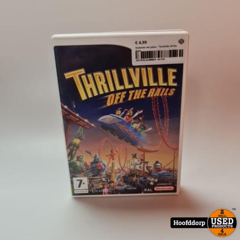 Nintendo wii game : Thrillville off the Rails