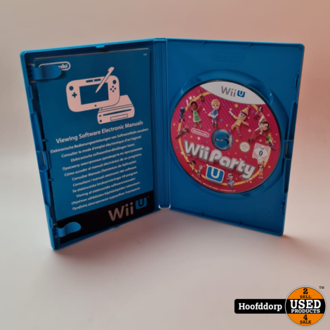 Nintendo wii game : WiiParty U