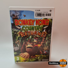 Nintendo wii game : Donkey Kong Country Returns