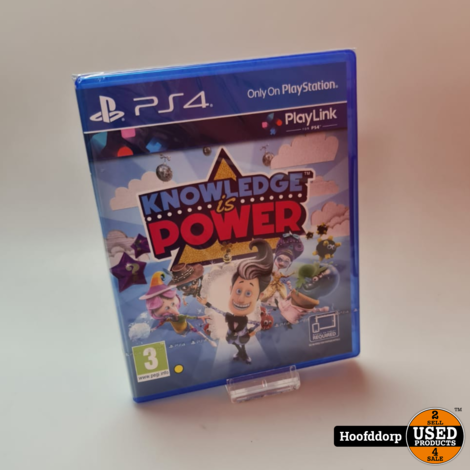 Playstation 4 game : Knowledge is power | Nieuw in seal