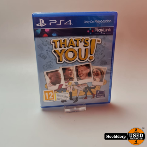 Playstation 4 game : That's you ! | Nieuw in seal