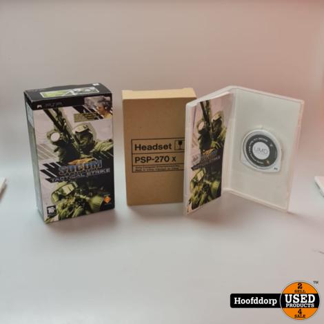 PSP Game : Socom US Navy Seals Tactical Strike