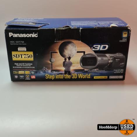 Panasonic HDC-SDT750 High Definition Video Camera