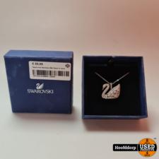 Swarovski Necklace Met Swan in doos