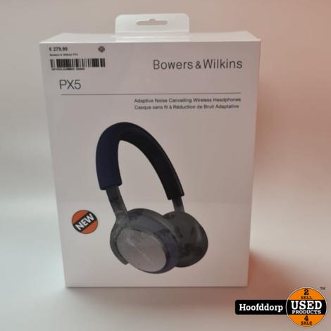 Bowers & Wilkins PX5 | Nieuw in geopende Doos