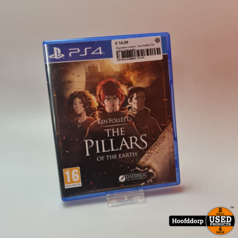 Playstation 4 game : Ken Folletts The pillars of the earth