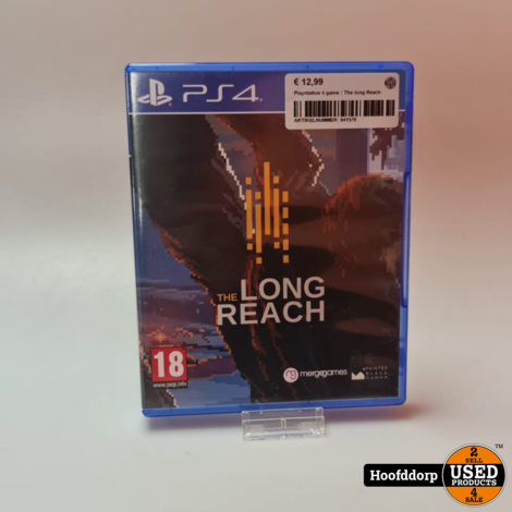 Playstation 4 game : The long Reach