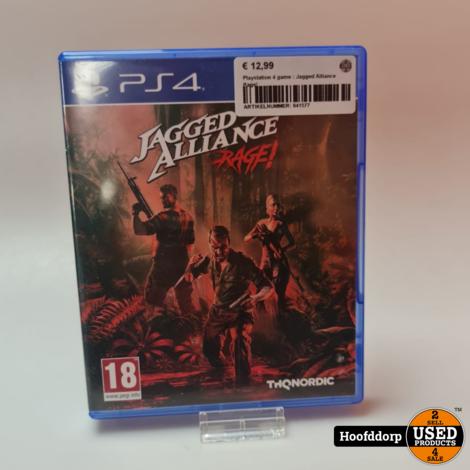 Playstation 4 game : Jagged Alliance Rage!
