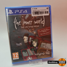 Playstation 4 game : The inner World The last wind monk