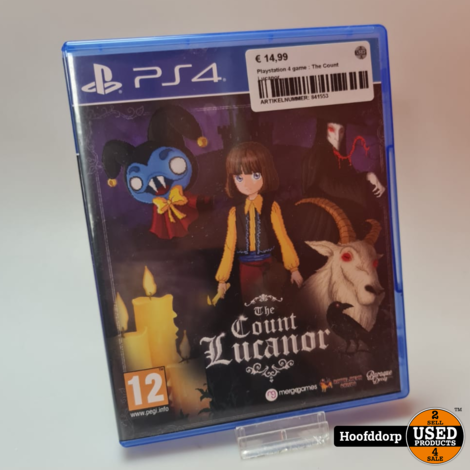 Playstation 4 game : The Count Lucanor