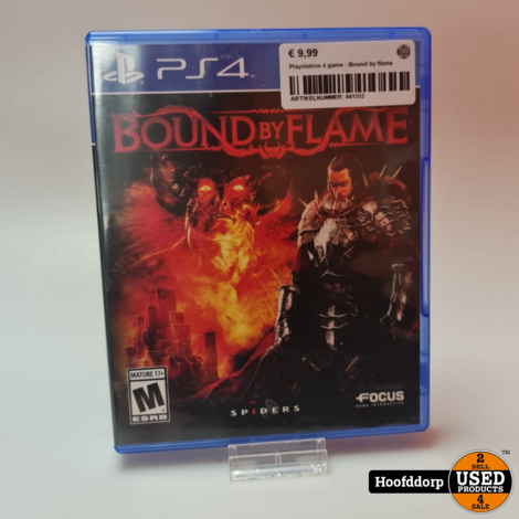 Playstation 4 game : Bound by flame