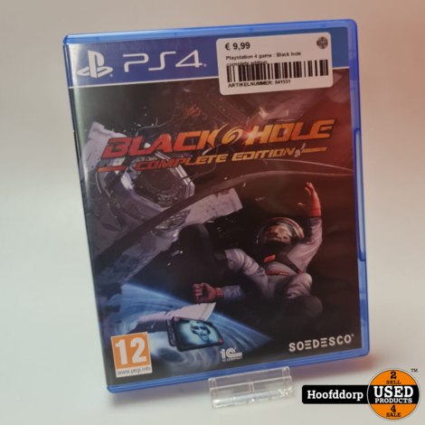 Playstation 4 game : Black hole complete edition