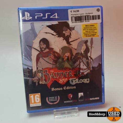 Playstation 4 game : The Banner Saga Trilogy Bonus Edition