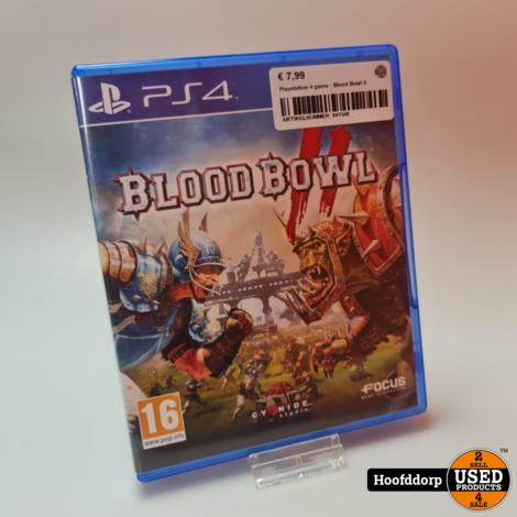 Playstation 4 game : Blood Bowl II