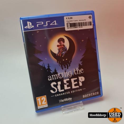 Playstation 4 game : Amoung the sleep