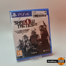 Playstation 4 game : Shadow tactics
