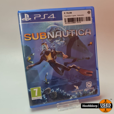 Playstation 4 game : Subnautica