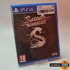 Playstation 4 game : Shadow Warrior