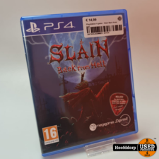 Playstation 4 game : Slain Back from hell