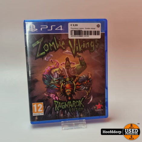Playstation 4 game : Zombie vikings ragnarok Edition