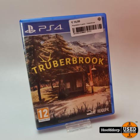 Playstation 4 game : Truberbrook