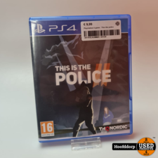 Playstation 4 game : This the police