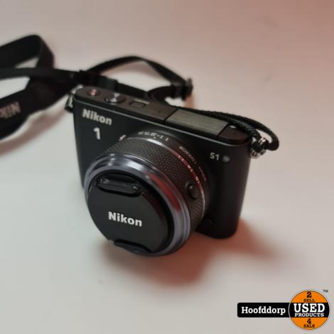 Nikon 1 S1 Digitale Camera in tas
