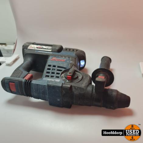 Bosch GBH36 V met 2 accu's