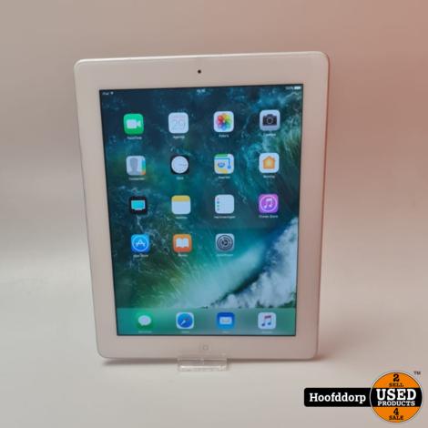 iPad 4 White 16GB Wifi
