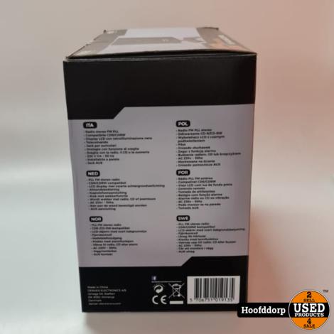 Denver Micro CD system mc-5220 Black mk2