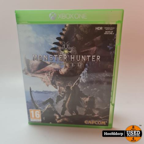 Xbox one Game : Monster Hunter World