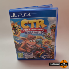 Playstation 4 Game : CTR Crash team Racing Nitro Fueled