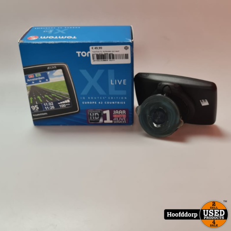 TomTom XL IQ Routes incl west europa 2019 | Nette staat
