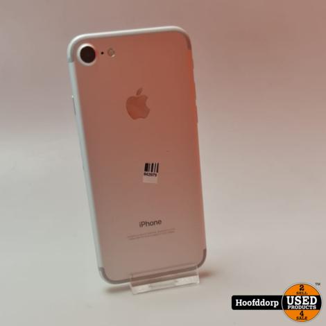 iPhone 7 128GB Silver   Nieuwstaat