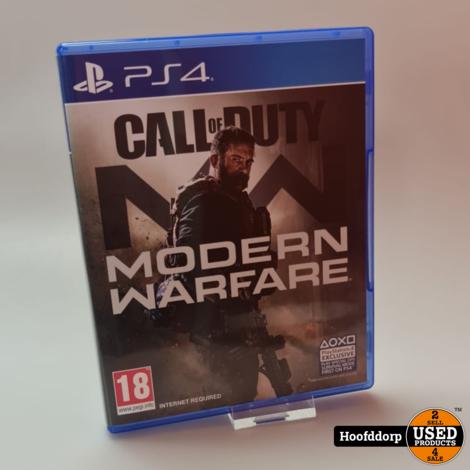 Playstation 4 game : Call of duty Modern Warfare