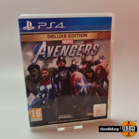 Playstation 4 game : Avengers Deluxe Edition