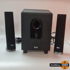 hercules xps 2.140 slim Computer speakers