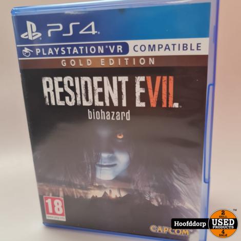 Playstation 4 game: Resident Evil 7 Biohazard
