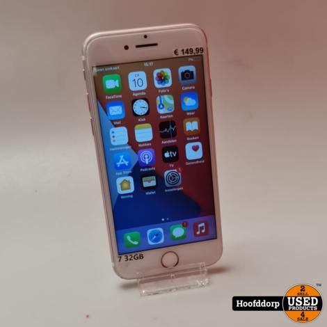 iPhone 7 32GB Rose   Redelijke staat