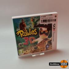 Nintendo 3ds game : Rabbids 3D