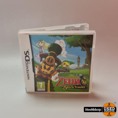 Nintendo DS game : The legend Of Zelda Spirit Tracks ( zonder boekjes)