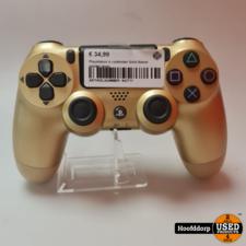 Playstation 4 controller Gold Nieuw zonder doos